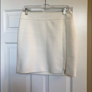 WHBM White Mini Skirt